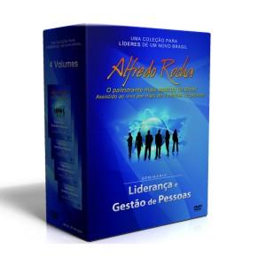 Box Liderança e Gestão de Pessoas - 4 DVD'S - Alfredo Rocha