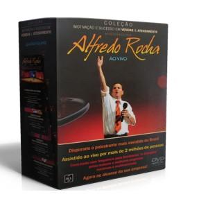 Box - Motivação e Sucesso em Vendas e Atendimento - 4 DVD's - Alfredo Rocha