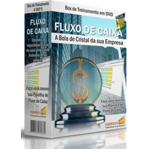 FLUXO DE CAIXA - A BOLA DE CRISTAL DA SUA EMPRESA - BOX com 4 DVD's